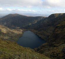 Mangerton mountain corrie by John Quinn