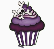 Cupcakes and bones One Piece - Short Sleeve