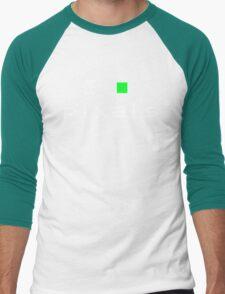 I Heart Pixels Men's Baseball ¾ T-Shirt
