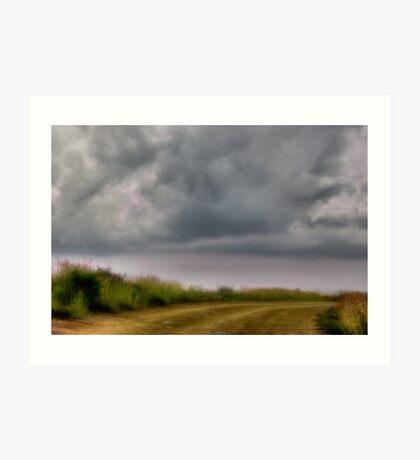 Walk in the Clouds Art Print