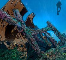 Wreck Diving Sticker