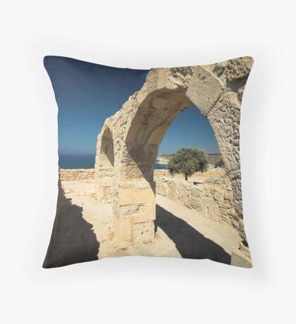 Roman Arches Throw Pillow