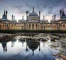 Sunset at the Royal Pavilion by James Lambie