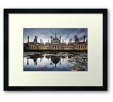 Sunset at the Royal Pavilion Framed Print
