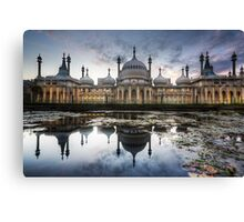 Sunset at the Royal Pavilion Canvas Print