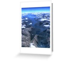 Airial Imagery ( 3 ) Greeting Card
