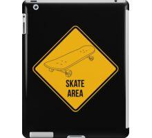 Skate park area. iPad Case/Skin