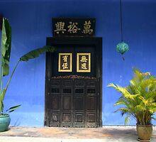 Blue Door by HappyYakImages