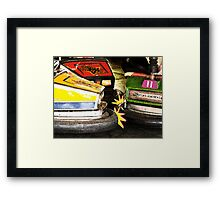Bumper Cars Framed Print