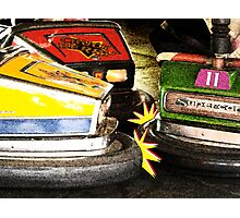 Bumper Cars Photographic Print