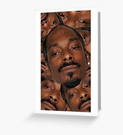 Snoop Dogg Greeting Card