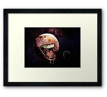 Cannibal Planet Framed Print