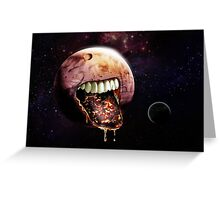 Cannibal Planet Greeting Card