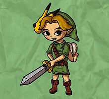 Toon Warrior Young Hero by skywaker