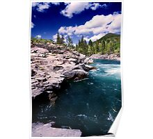 Castle Falls campground Poster