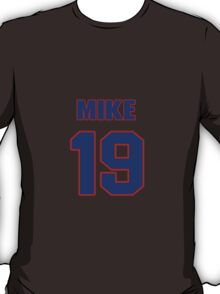 National Hockey player Mike Wong jersey 19 T-Shirt