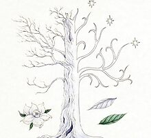 The White Tree of Gondor by Mariya Olshevska