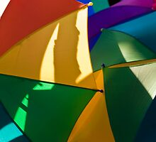 Primary Umbrellas by Tom Allen
