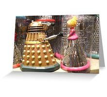 I Will Wait 4U- A Dalek in Love Greeting Card