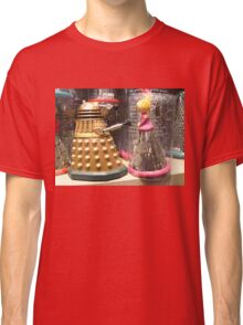 I Will Wait 4U- A Dalek in Love Classic T-Shirt