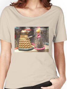 I Will Wait 4U- A Dalek in Love Women's Relaxed Fit T-Shirt