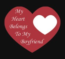 My Heart Belongs to my Boyfriend by Wieberg Photography