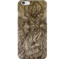 Skull God iPhone Case/Skin