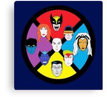 Classic X-Men Canvas Print