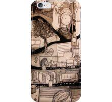 Through The Curtain iPhone Case/Skin