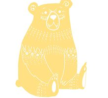 doodle bear by christinel