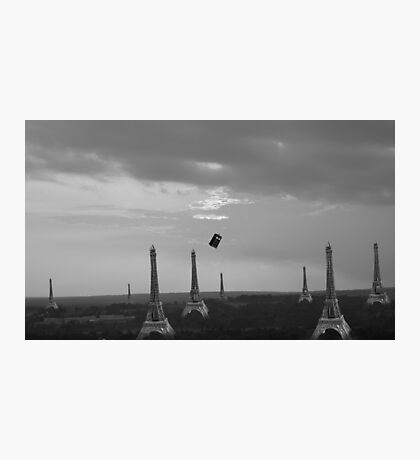 Eiffel Attack! Photographic Print