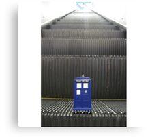 Stairway to TARDIS Canvas Print