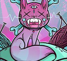 Cat  Nip'd by ianschmidtart