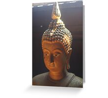 Buddha Haze Greeting Card