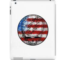 Grateful Dead Deadhead American Flag iPad Case/Skin