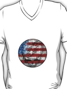 Grateful Dead Deadhead American Flag T-Shirt
