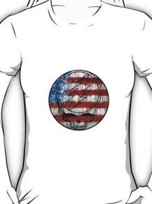 Grateful Dead Deadhead American Flag T-Shirt