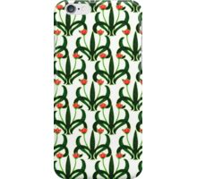 Nouveau Style Tulips 1  iPhone Case/Skin