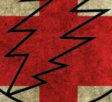 Grateful Dead Deadhead British Flag Sticker