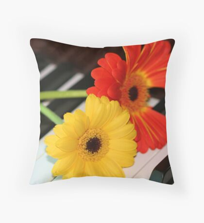 The Last Note Throw Pillow