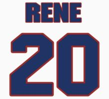 National Hockey player Rene Corbet jersey 20 by imsport