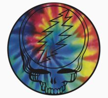 Grateful Dead Deadhead Tye Dye by Jason Levin