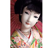 Geisha Doll Photographic Print