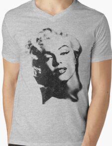 Marilyn Monroe in vintage black-n-white Mens V-Neck T-Shirt