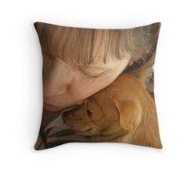 Judy & Lola Throw Pillow