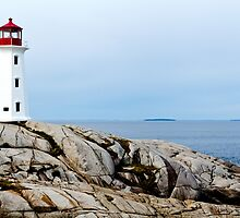 Peggy's Cove Lighthouse by Dan Dooley