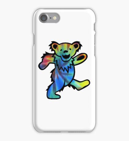 Grateful Dead Dancing Bear Tye Dye iPhone Case/Skin