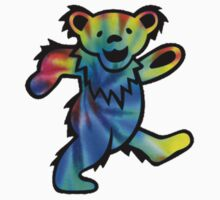 Grateful Dead Dancing Bear Tye Dye by Jason Levin