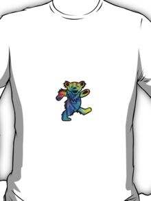 Grateful Dead Dancing Bear Tye Dye T-Shirt