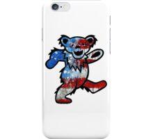 Grateful Dead Dancing Bear American Flag iPhone Case/Skin